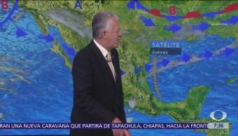 Despierta con Tiempo: Frente frío 33 ingresará a México