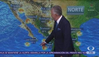 Despierta con Tiempo: Frío y lluvias para el norte de México