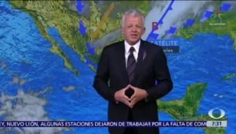 Despierta con Tiempo: Tormentas fuertes en sureste y oriente de México
