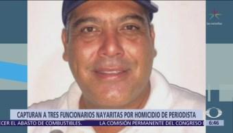 Detienen a 3 por asesinato del periodista Jesús Alejandro Márquez