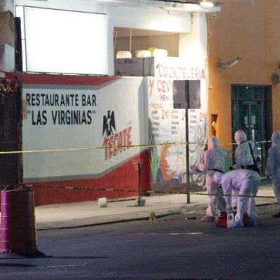 Detienen a dos personas por tiroteo en bar de Playa del Carmen