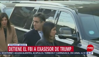 Detienen a exasesor de Donald Trump en Florida, EU