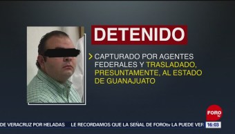 Foto: Detienen al hijo del exgobernador de Michoacán, Fausto Vallejo, 26 enero 2019