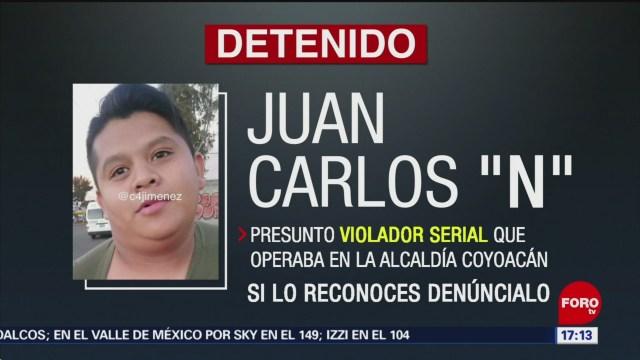 Detienen y vinculan a ocho denuncias a presunto violador serial