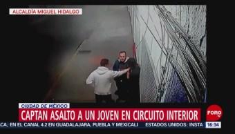 Dos hombres armados asaltan a joven en lateral de Circuito Interior