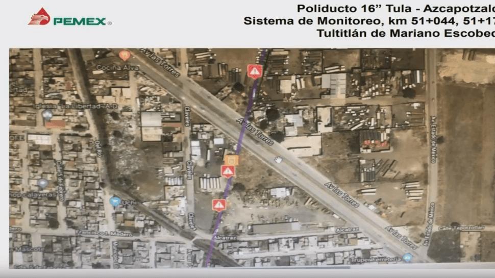 Ducto Tula-Azcapotzalco tenía red clandestina de diesel
