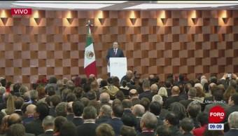 Ebrard anuncia reuniones de SRE para analizar política exterior