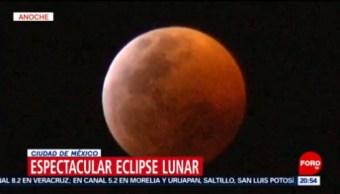 Eclipse Lunar En Cdmx Luna México
