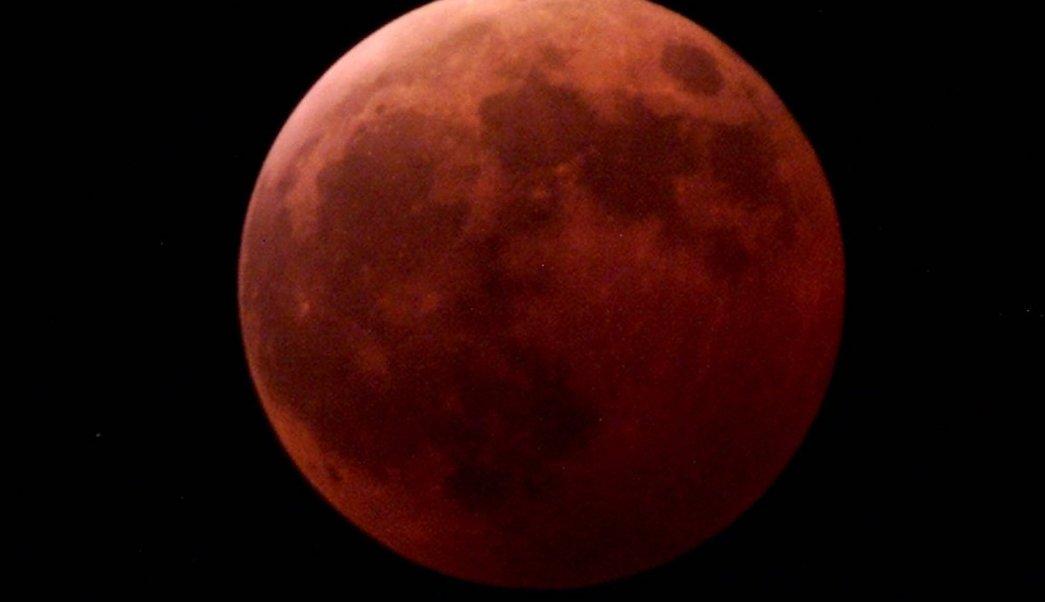 Eclipse lunar del 20 de enero del 2019 se verá en México