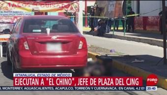Foto: ejecutaron a 'El Chino', jefe de plaza del Cártel Jalisco Nueva Generación (CJNG), 23 de enero 2019