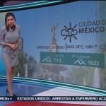 El Clima 'A las Tres' con Daniela Álvarez del 23 de enero de 2019