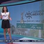 Foto: El clima A las Tres con Daniela Álvarez del 25 de enero de 2019