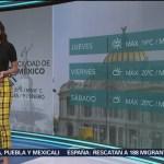 El clima A las Tres con Daniela Álvarez del 9 enero de 2019