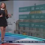 El clima, con Mayte Carranco del 10 de enero de 2019