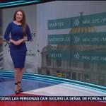 Foto: El clima con Mayte Carranco del 28 de enero de 2019