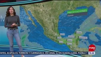 El clima de 'A Las Tres' con Daniela Álvarez [3-1-19]