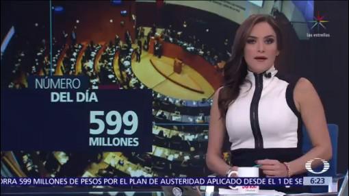 El número del día: 599 millones
