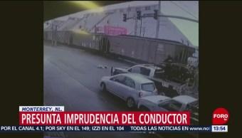 Tráiler atropella a mujer en Monterrey, Nuevo León