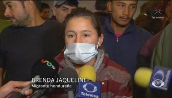 Migrantes se niegan a ser reubicados en El Barretal