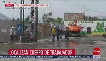 Encuentran cuerpo de trabajador enterrado tras derrumbe en CDMX