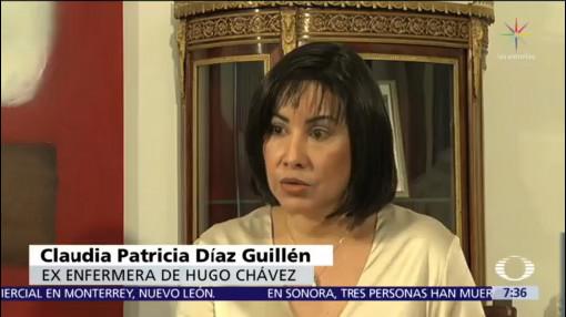 Enfermera de Hugo Chávez habla para Noticieros Televisa