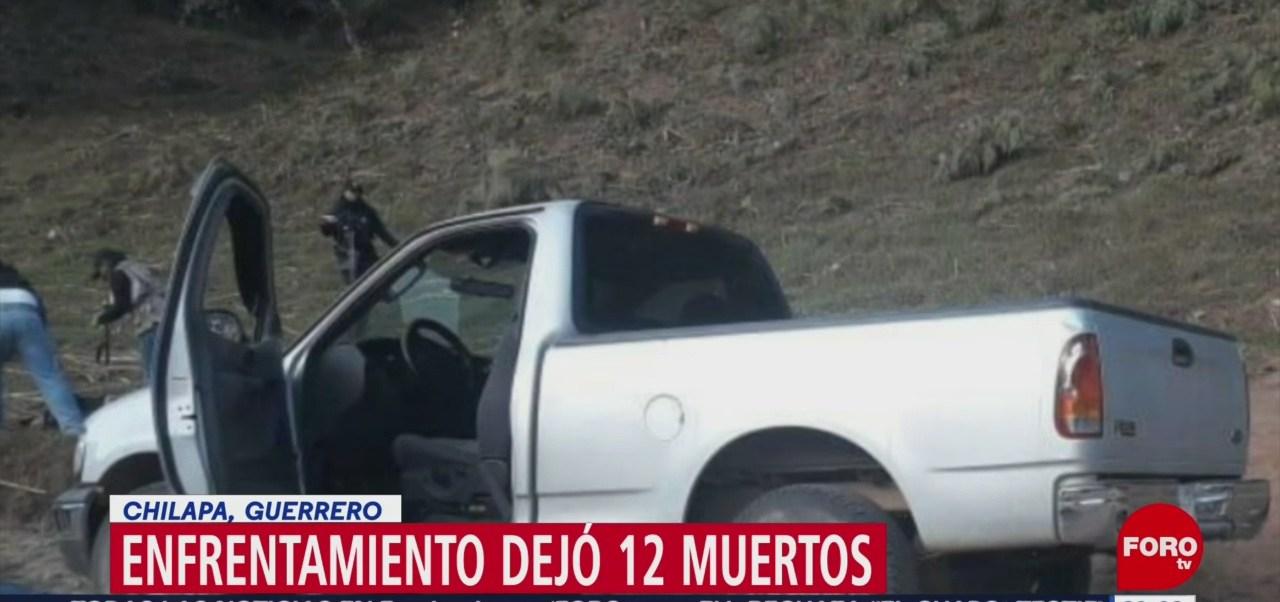 Foto: Enfrentamiento Chilapa Guerrero 28 de Enero 2019