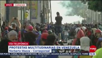 Enfrentamientos son hechos normales en Venezuela