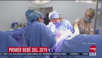 Es niña, primer bebé del 2019 en México