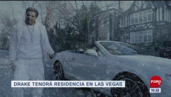 #EspectáculosenExpreso: Drake tendrá residencia en Las Vegas