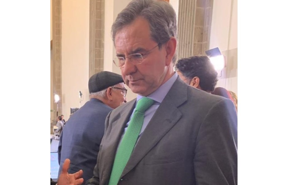 Foto: El secretario de Educación Pública, Esteban Moctezuma, asiste a la Reunión del Consejo Nacional de las Autoridades Educativas, Ciudad de México, 30 de enero de 2019 (Twitter: @GradoCero_Gro)