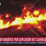 Foto: Explosión Tlahuelilpan Peor Tragedia Huachicol 25 de Enero 2019