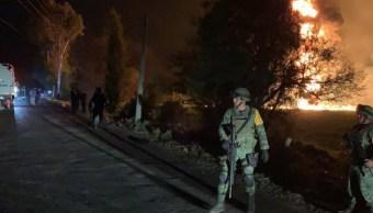 IMSS e ISSSTE atienden a heridos por explosión de ducto de Hidalgo