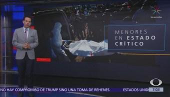 Explosión Tlahuelilpan: 7 niños sufrieron quemaduras