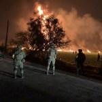 FOTO: Suman 95 muertos por explosión Tlahuelilpan 18 enero 2019 Tlahuelilpan Estado de México