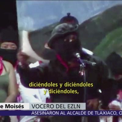 EZLN celebra 25 años de levantamiento, pide resistencia contra AMLO
