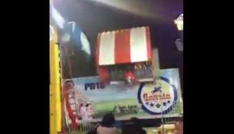 Foto: Falla juego mecánico en Feria de León y causa pánico 29 enero 2019