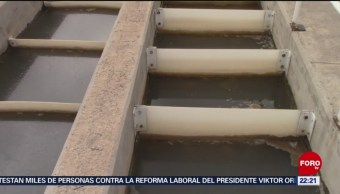 Fallas en presa deja sin agua a miles en San Luis Potosí