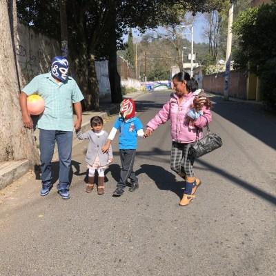 Los Reyes Magos visitan los hogares en México