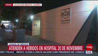 Familiares esperan informes en hospitales del Valle de México