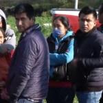 Pobladores buscaban a familiares en Tlahuelilpan, Hidalgo
