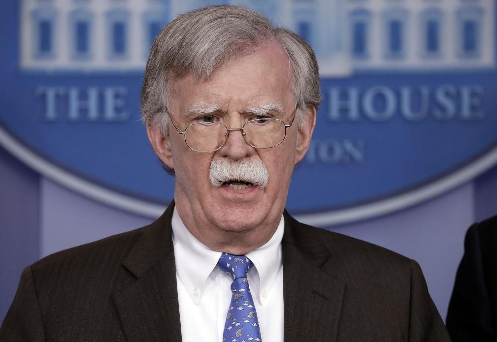Foto: John Bolton, asesor de Seguridad Nacional del presidente Donald Trump, en conferencia de prensa el 28 de enero del 2019