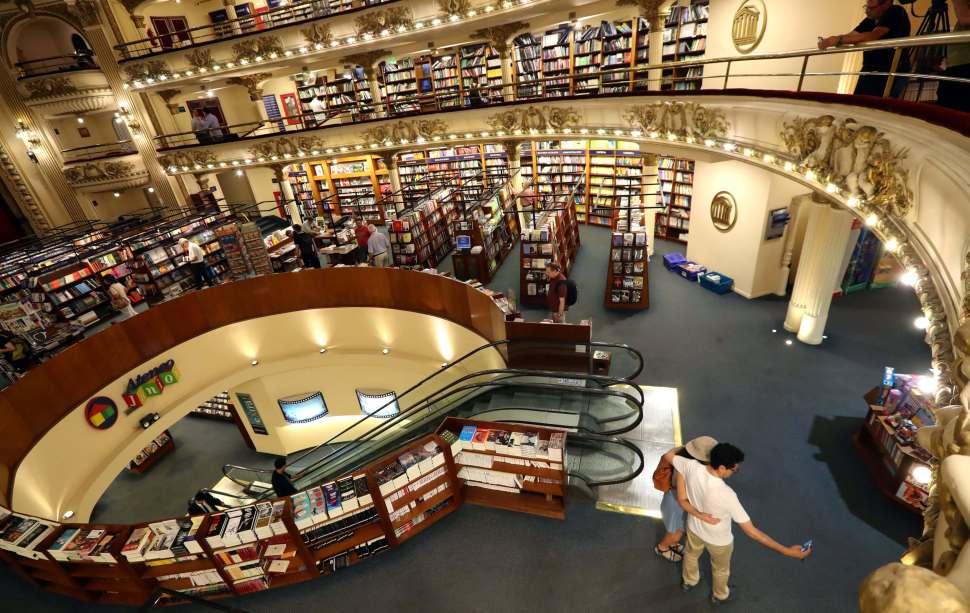 El Ateneo Grand Splendid, librería más bella del mundo