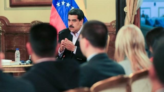 Foto: Nicolás Maduro habla sobre las sanciones de EEUU a la petrolera PDVSA el 29 de enero del 2019