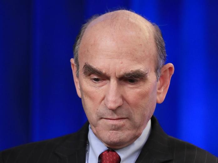 Foto: Exdiplomático Elliott Abrams en conferencia de prensa el 25 de enero del 2019