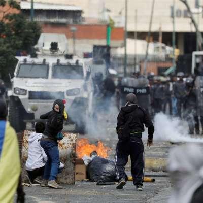 Suman trece muertos por protestas de dos días en Venezuela