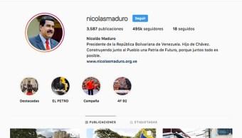 Foto: Perfil de Instagram de Nicolás Maduro 23 de enero del 2019