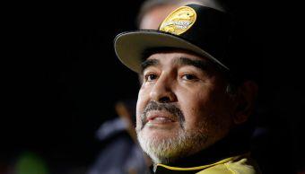 Maradona, fuera de peligro tras ser hospitalizado