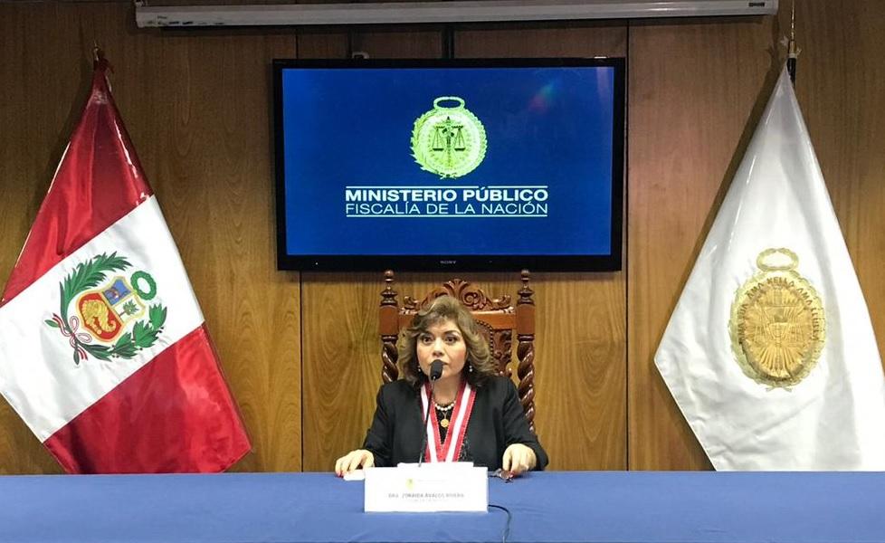Perú: Nueva fiscal declara emergencia en Ministerio Público
