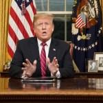 Trump habla sobre muro y crisis fronteriza