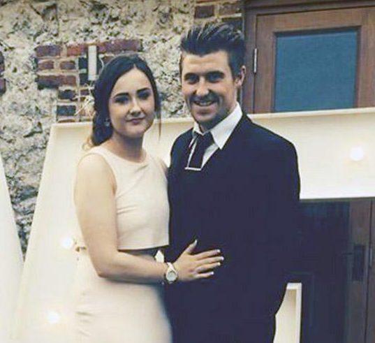 Georgia Jackson y Josh Haddock llevaban 4 años de novios. Él la engaño dos veces, una en 2016 y la segunda el año pasado (NewsGroup Newspapers LTD)